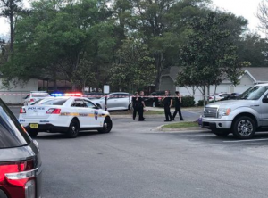 Two Men Shot and Injured in Alleged Attempted Robbery at the Finley Apartments.