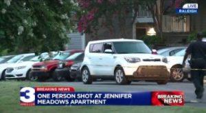Shooting at Jennifer Meadows Apartments Leaves Man Injured.
