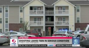 Boy, 13, Seriously Injured in Wilmington Apartment Complex Shooting.