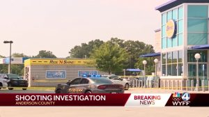 Shooting at Spinx Gas Station in Anderson Leaves One Person Injured.