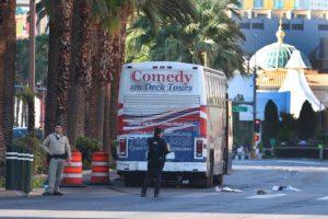 Two Pedestrians Hit by Bus Near Las Vegas Boulevard.