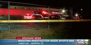Big League Sports Bar and Grill Shooting Leaves One Woman Injured.