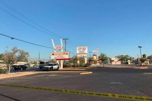 Sledgehammer Attack at Las Vegas Laundromat Leaves One Woman Dead.