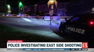 Indianapolis Apartment Complex Shooting Leaves One Man Injured.