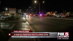 Pedestrian Accident in Henderson, NV Fatally Injures Man.