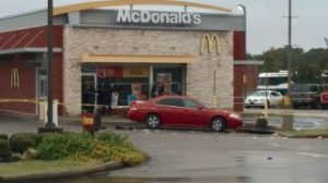 McDonald's Restaurant Shooting, Memphis, TN Leaves One Person in Critical Condition.