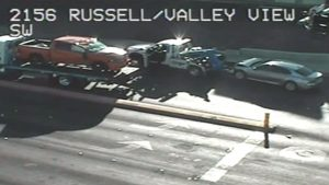 Las Vegas Car Accident at Valley View Boulevard and Russell Road Causes Injuries, Driver Fails Sobriety Test.