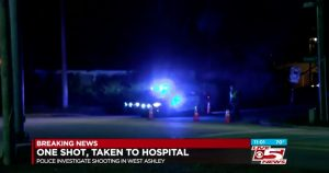 West Ashley, SC Apartment Complex Shooting Leaves One Man Injured.