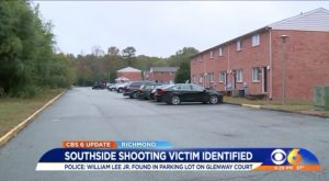 William L. Lee Jr. Killed in Richmond, VA Apartment Complex Shooting.
