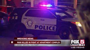 Indian Hills Apartments Stabbing, Las Vegas, NV Leaves One Man Dead.