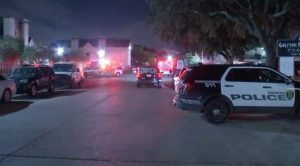 Houston, TX Apartment Complex Shooting Leaves One Man dead.
