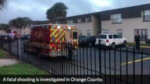 Orlando, FL Apartment Complex Shooting Leaves One Man Dead.
