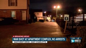 Apartment Complex Shooting in Charlotte, NC Leaves One Person Injured.