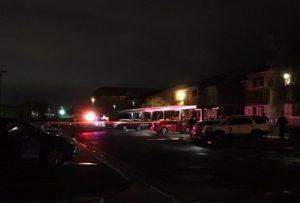 Glenbrook Terrace Apartments Shooting in Las Vegas Leaves Two People Injured.