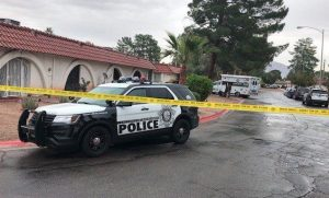 Las Vegas Apartment Complex Shooting on Folage Drive Leaves One Man Dead.