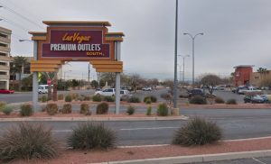Las Vegas Outlet Mall Attempted Robbery Leaves One Woman Injured.