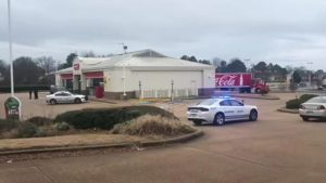 Memphis, TN Gas Station Attempted Robbery and Shooting Leaves One Man Injured.