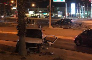 Las Vegas Car Accident on Lamb Boulevard and Las Vegas Boulevard North Leaves Multiple Injuries.