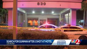 Katerina Hotel Shooting in Orlando, FL Leaves One Man and a Teen Boy Injured.