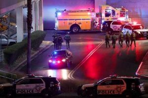 Las Vegas Fashion Show Mall Shooting Leaves Three People Injured.