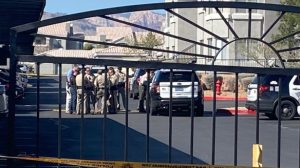 Las Vegas Apartment Complex Shooting on West Flamingo Road Leaves One Man Fatally Injured.