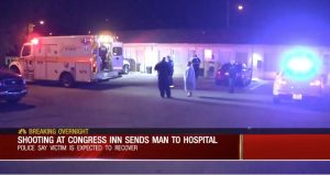 Nashville, TN Hotel Shooting Leaves One Man Injured.