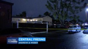 Fresno, CA Apartment Complex Shooting Leaves One Man Injured.