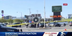 Oklahoma City, Oklahoma Hotel Shooting Leaves One Person Injured.