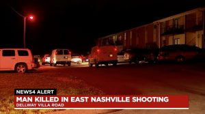 Nashville, TN Apartment Complex Shooting Leaves One Man Fatally Injured.
