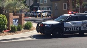 Las Vegas Apartment Complex Shooting Leaves One Woman Injured.
