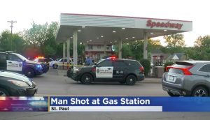 Gas Station Shooting in St. Paul, MN Injures One Man.