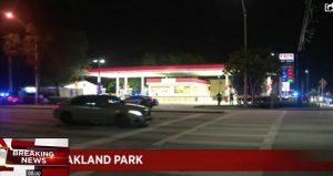 Oakland Park, FL Gas Station Shooting Injures One Man.