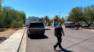 Phoenix, AZ Motel Shooting Fatally Injures One Man.