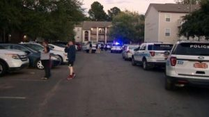 Sharon Pointe Apartments Complex Shooting, Clarlotte, NC, Injures Two Children.