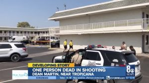 Las Vegas Motel Shooting Fatally Injures One Man.