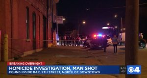 William Edwards Fatally Injured in St. Louis, MO Bar Shooting.