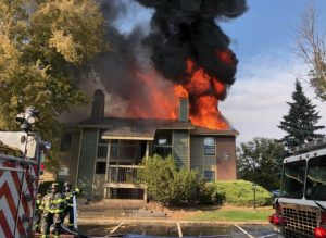 Thornton, CO Apartment Fire Injures Multiple People.