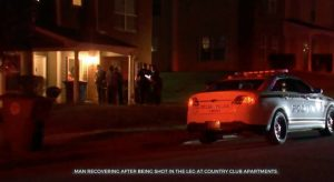 Country Club Apartments Shooting, Tulsa, OK, Injures One Man.