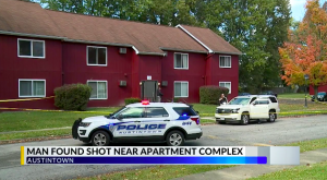 Austintown, OH Apartment Complex Shooting Fatally Injures One Man.