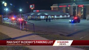 Kansas City, MO Restaurant Parking Loy Shooting Injures One Man.
