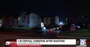 Nob Hill Apartments Shooting, Kansas City, MO, Injures Two People.