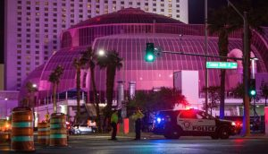 Shooting at Hotel and Casino on the Las Vegas Strip Injures Four People.
