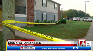 Meriwether Place Apartments Shooting, Durham, NC, Claims Life of One Man.