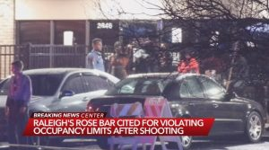 Shooting at Rose Bar Sports Bar and Lounge in Raleigh, NC Leaves Three People Injured.