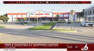 Cutler Bay, FL Shopping Center Shooting Injures Three People.