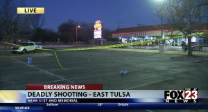 Demarcos Rodriguez Fatally Injured in Tulsa, OK Private Club Shooting.