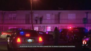 Benjamin Clyde Whaley, Malski Hill Fatally Injured in Muskogee, OK Apartment Complex Shooting; Two Others Injured.