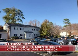 Wilmington, NC Apartment Complex Shooting Leaves Young Adult Seriously Injured.