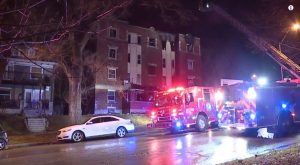 Kansas City, MO Apartment Building Fire Leaves at Least Three People Injured.