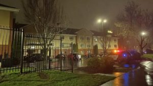 Extended Stay America Hotel Shooting in Portland, OR Leaves Two Woman injured.